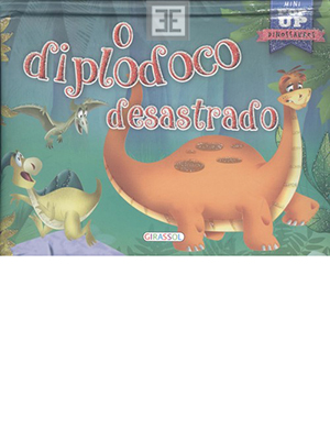 LIVRO O DIPLODOCO DESASTRADO