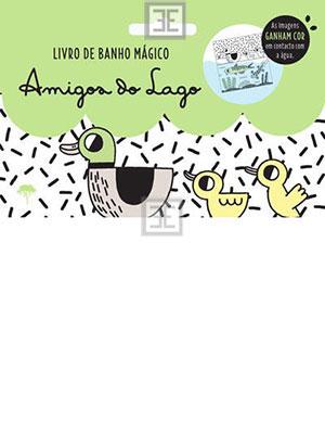 LIVRO AMIGOS DO LAGO - LIVRO DE BANHO
