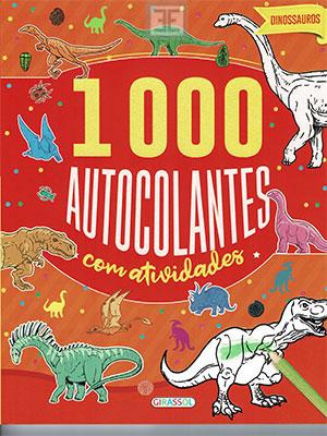 LIVRO 1000 AUTOCLANTES COM ATIVIDADES DINOSSAUROS