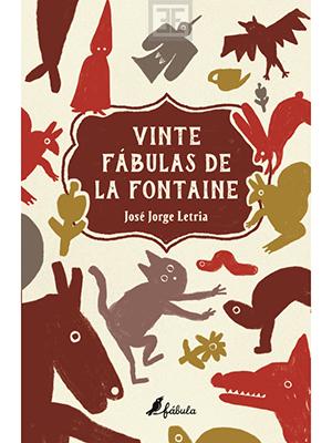 LIVRO VINTE FABULAS DE LA FONTAINE