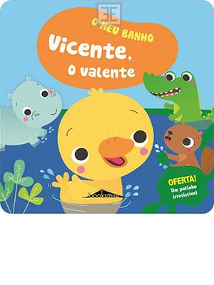 LIVRO O MEU BANHO 2 VICENTE O VALENTE