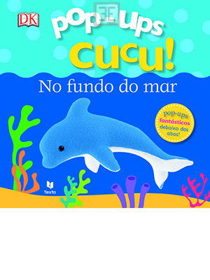 LIVRO POP UPS CUCU NO FUNDO DO MAR