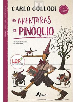 LIVRO AS AVENTURAS DE PINOQUIO